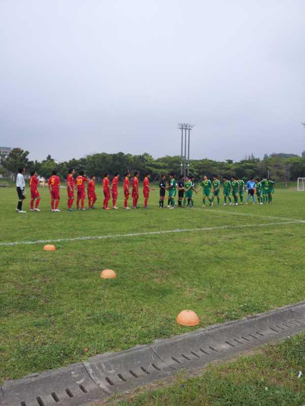 九州大学サッカートーナメント大会本戦 VS 沖縄国際大学